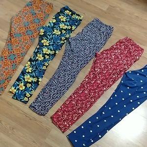 5 pair LLR leggings